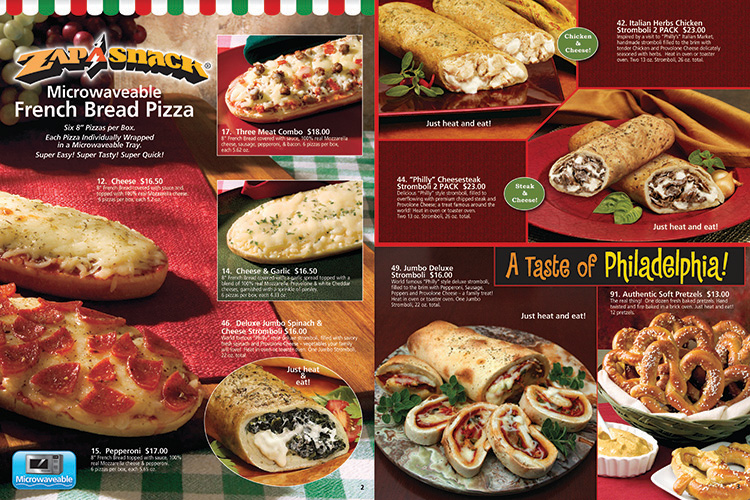 Food Court Brochure From Total Concepts In Fundraising